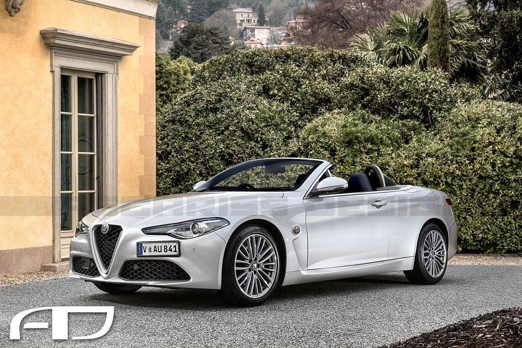 Alfa Romeo GT Roadster: ipotesi di una sportiva open-air del Biscione [RENDERING]