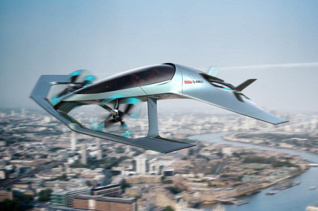 Aston Martin Volante Vision Concept: il marchio di supercar prende il volo