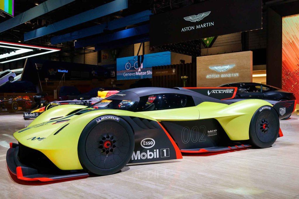 Aston Martin Valkyrie AMR Pro: potrebbe battere il record della Porsche 919 al Nurburgring