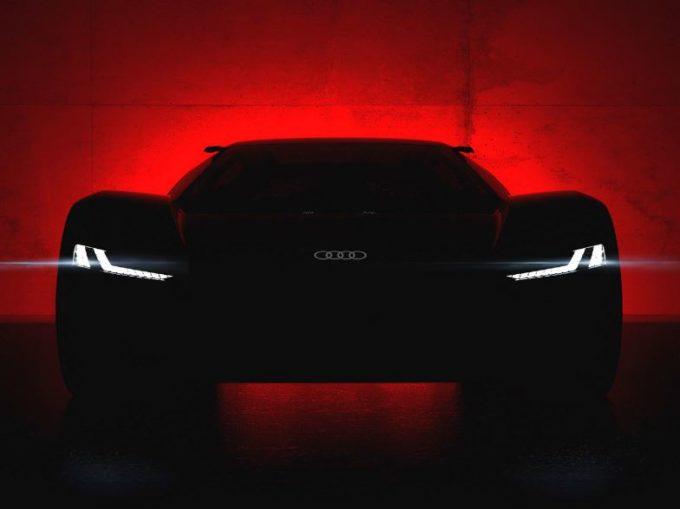 Audi PB18 E-Tron: la nuova supercar elettrica verrà svelata a Pebble Beach [TEASER]
