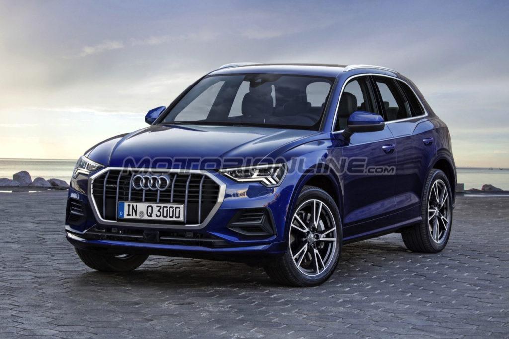 Audi Q3: una nuova ipotesi stilistica della prossima generazione [RENDERING]