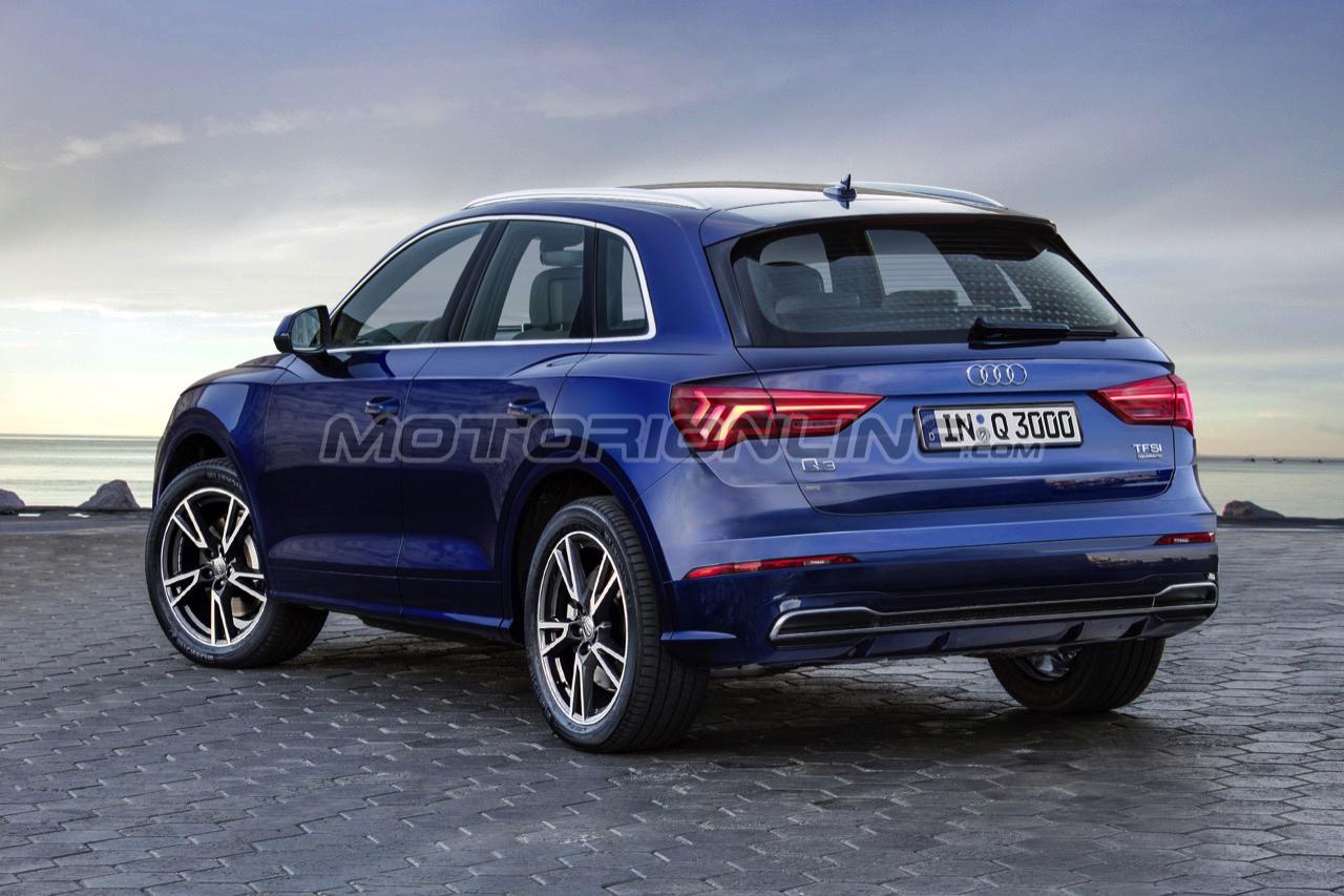Audi q3 una nuova ipotesi stilistica della prossima for Quando esce la nuova audi q3 2018