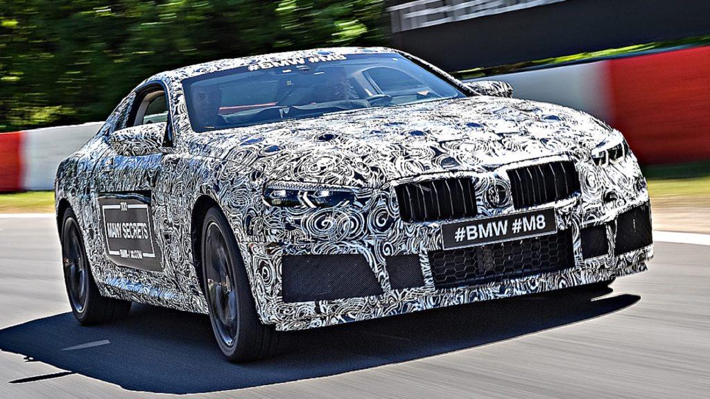 Nuova BMW M8: sorpresa nei test sul circuito del Nurburgring [VIDEO SPIA]