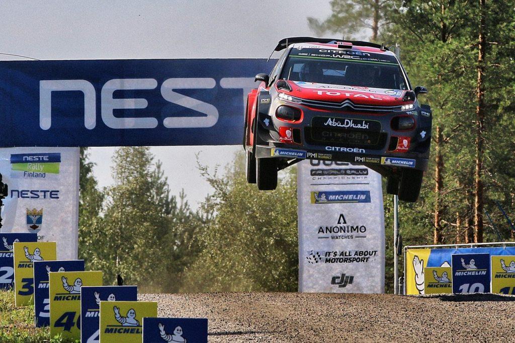 Rally di Finlandia: Citroen ottiene un buon secondo posto con la C3 WRC di Ostberg