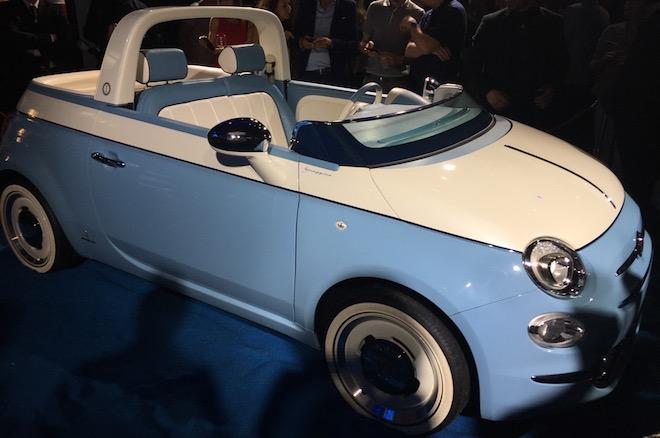 Fiat 500 spiaggina la doppia rinascita di un icona foto for Garage fiat marignane
