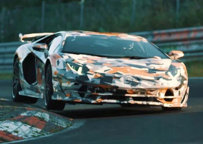 Lamborghini Aventador SVJ: godrà dell'ultimo V12 non elettrificato