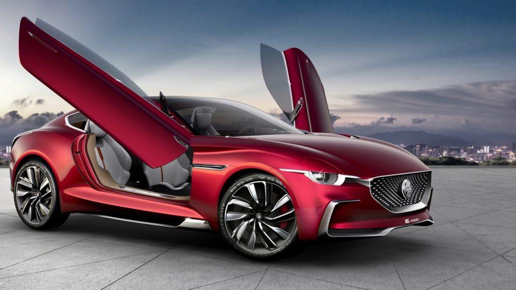 MG E-Motion Concept: il grande ritorno con una sportiva totalmente elettrica [RENDERING]