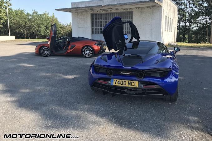 McLaren 720S e 570S Spider, le Series alla prova [VIDEO TEST DRIVE]