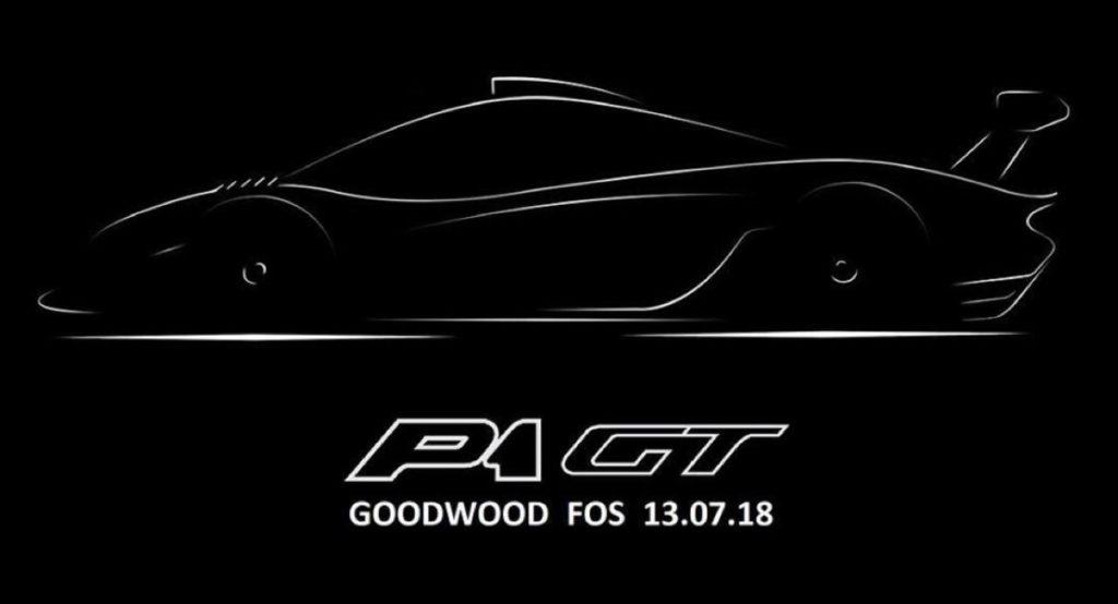 McLaren P1 GT Longtail: ecco il teaser, si ispira alla linea della F1 [TEASER]