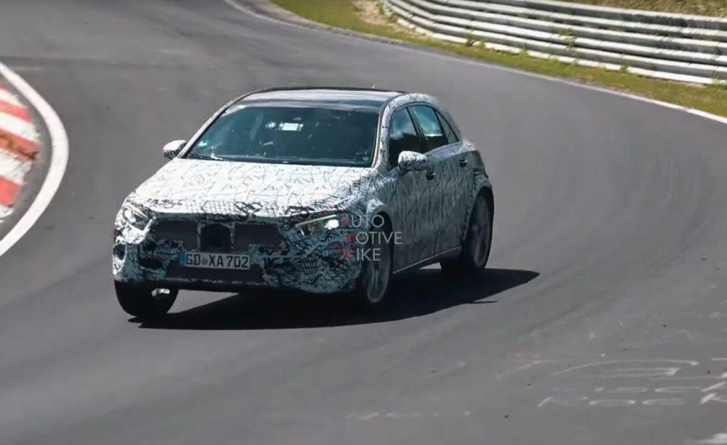 Mercedes GLA: la nuova generazione filmata al Nurburgring [VIDEO SPIA]