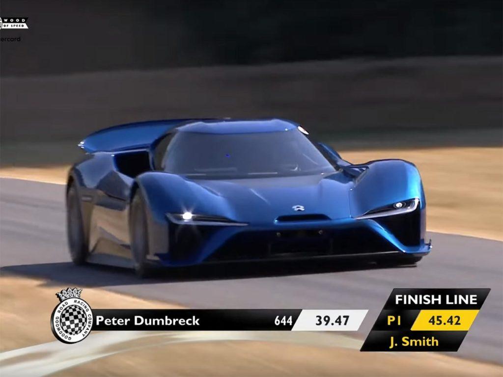 Nio EP9: l'hypercar elettrica è la vettura da strada più veloce sul circuito di Goodwood [VIDEO]