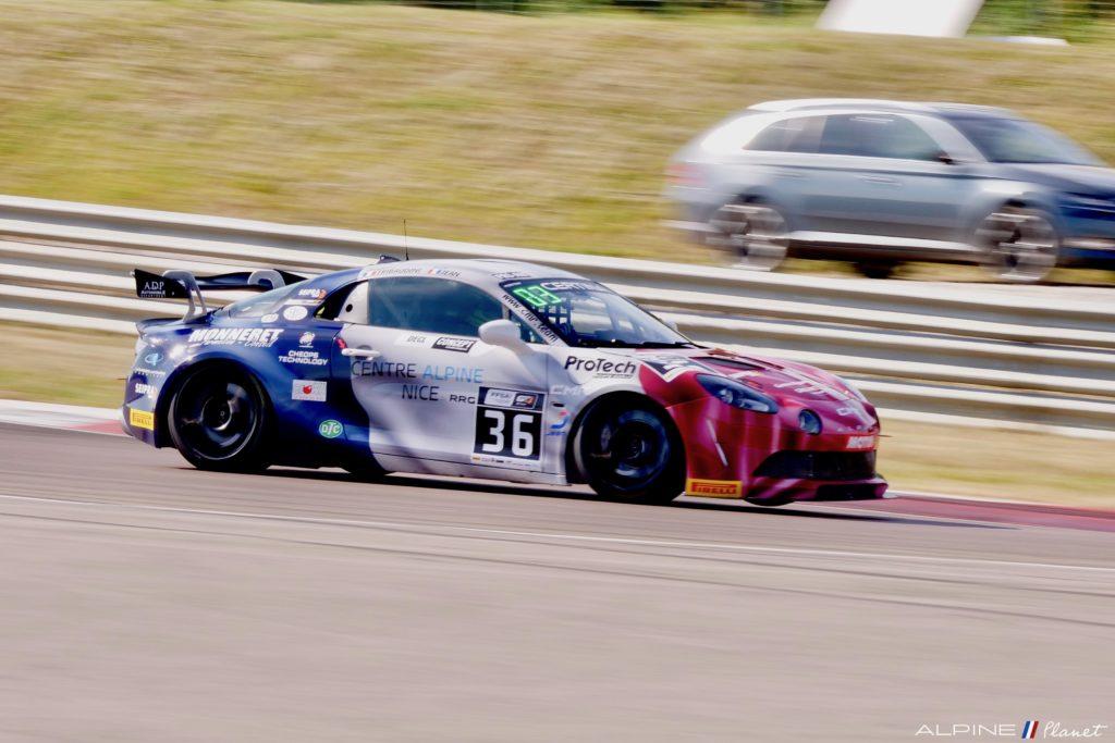 Alpine A110 GT4 La Marianne Garage Italia