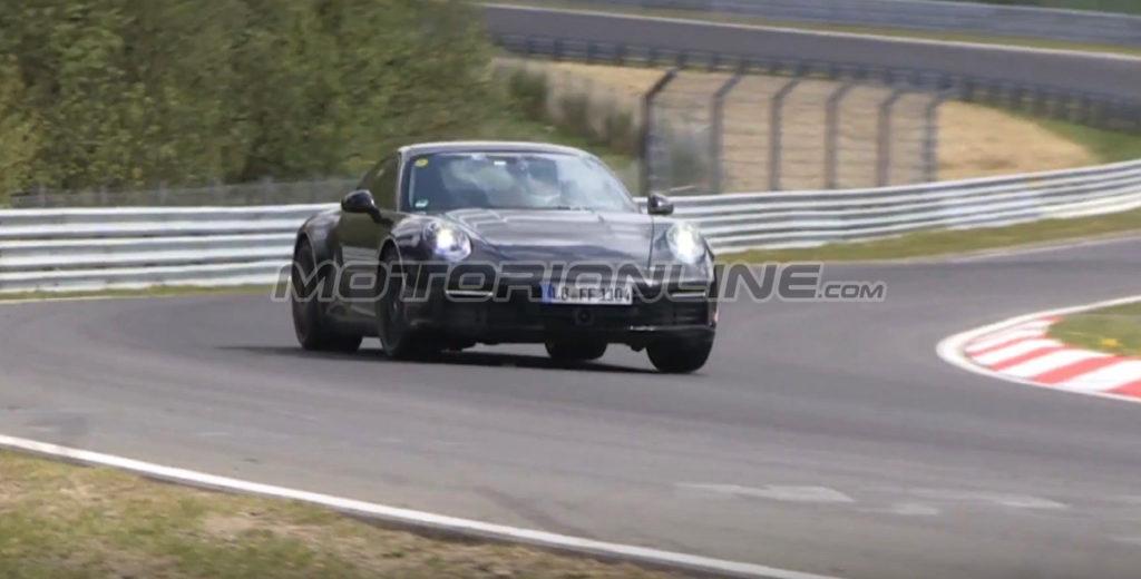 Nuova Porsche 911: la prossima generazione sorpresa ancora durante lo sviluppo [VIDEO SPIA]