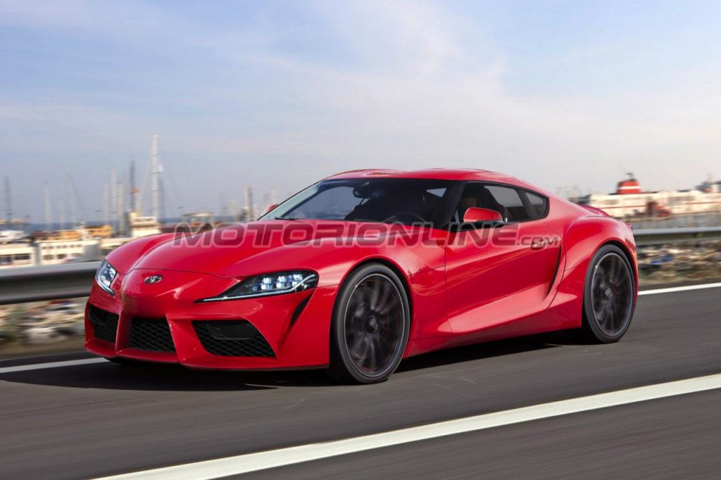 Toyota Supra: l'ipotizzato aspetto della nuova sportiva giapponese [RENDERING]