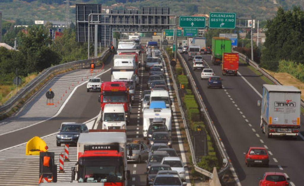 Previsioni del traffico: probabili spostamenti di media intensità nel fine settimana