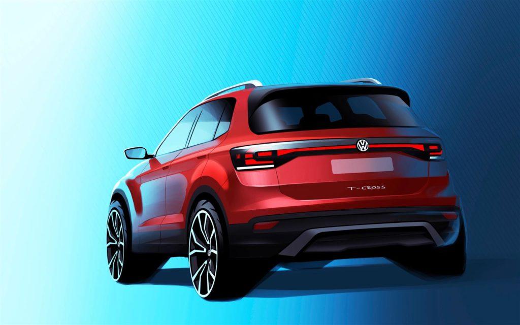 Volkswagen T-Cross: primi dettagli sul nuovo SUV compatto
