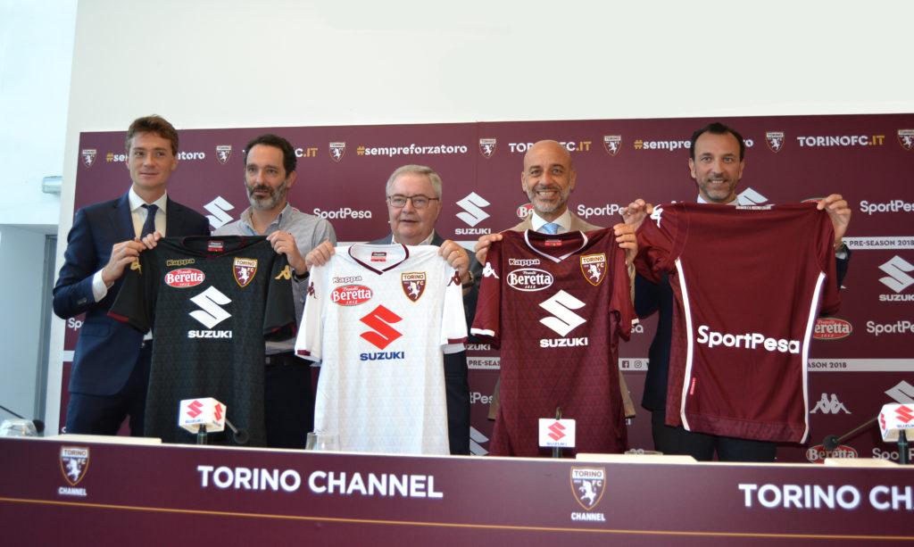 Suzuki sarà ancora sponsor principale del Torino Football Club