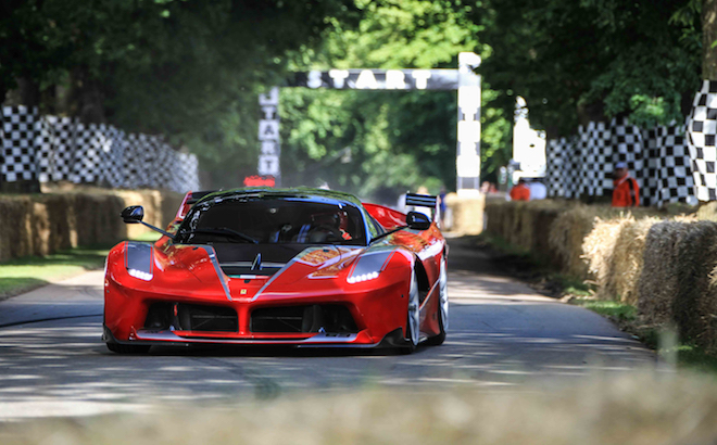 Ferrari: il Cavallino tra le protagoniste a Goodwood