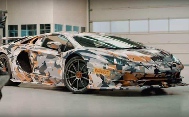 Lamborghini Aventador SVJ: proseguono i test al Nurburgring [VIDEO TEASER]