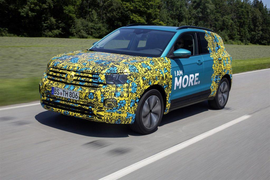 Nuova Volkswagen T-Cross: prime informazioni tecniche sul SUV compatto