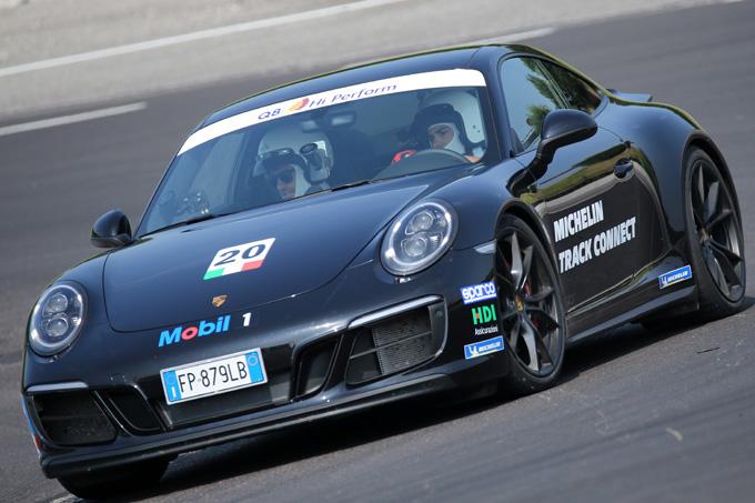 Michelin trasforma gli appassionati in ingegneri di pista con l'app Track Connect