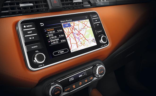 Nissan Micra: arriva il nuovo sistema di infotainment NissanConnect