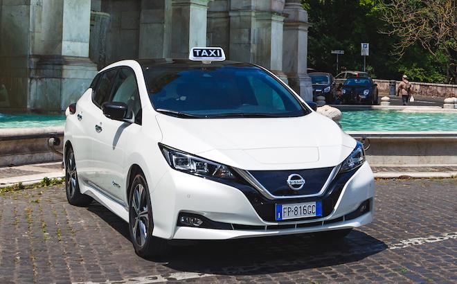 Nissan Leaf e e-NV200 Evalia: la versione Enel Edition per i taxi