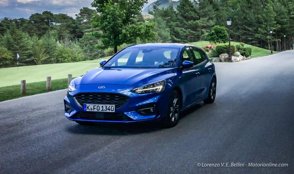 La nuova Ford Focus ha conquistato le cinque stelle Euro NCAP 2018