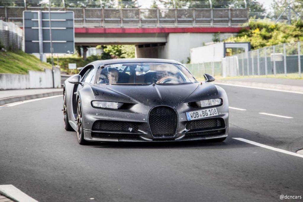 Nuova Bugatti Chiron Divo: probabile avvistamento nei pressi del Nurburgring