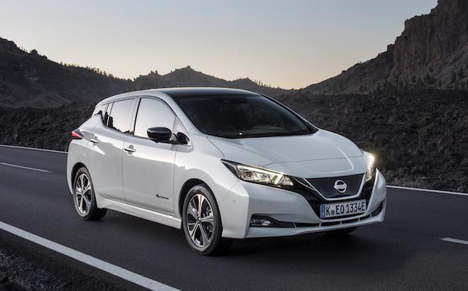 Nissan Leaf: è l'auto elettrica più venduta in Europa