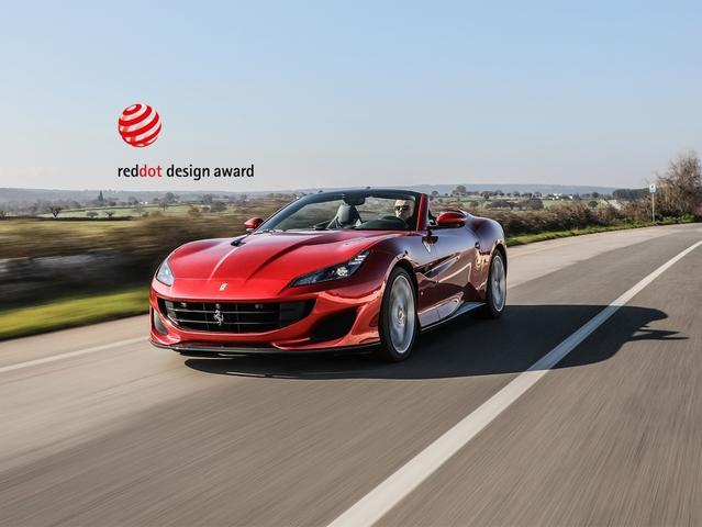 Ferrari ha conquistato il Red Dot Design Award per il quarto anno consecutivo