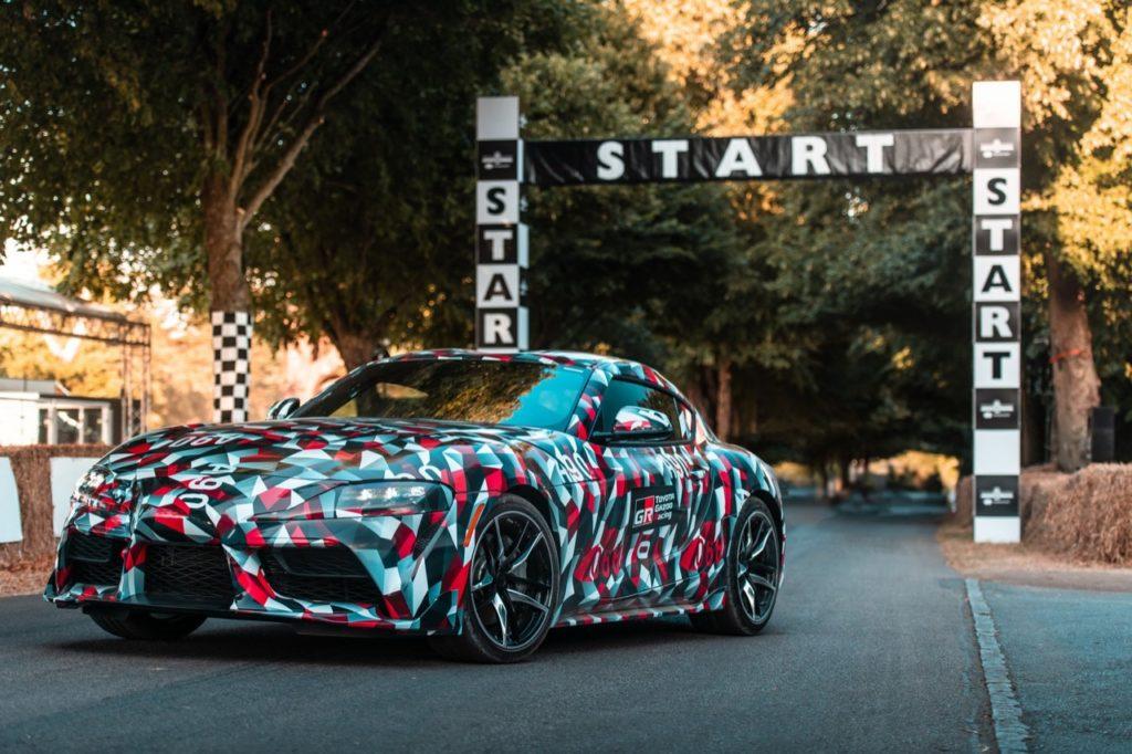 Nuova Toyota Supra: confermato il 4 cilindri turbo da 262 CV