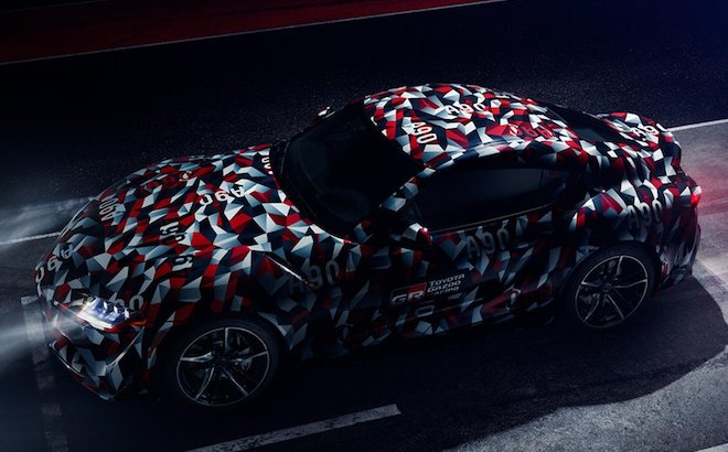Toyota Supra: debutto al Goodwood Festival of Speed 2018? [TEASER]