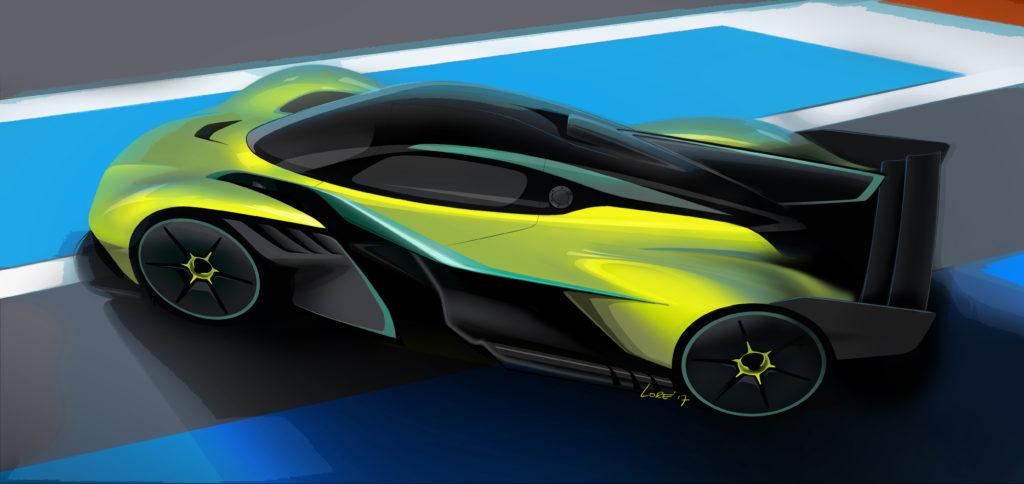 Aston Martin: la nuova supercar a motore centrale prenderà spunto dalla Valkyrie