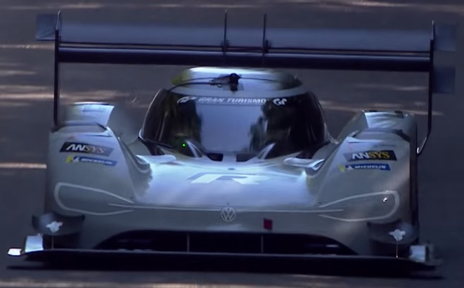 Volkswagen I.D. R: record elettrico a Goodwood 2018 [VIDEO]