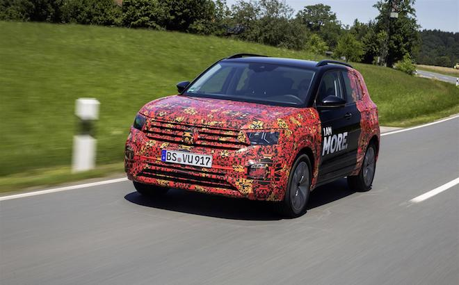 Volkswagen T-Cross: il SUV compatto al Nurburgring [VIDEO SPIA]