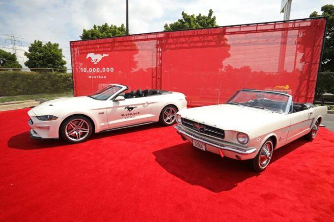 Ford Mustang: celebrazioni per i 10 milioni di esemplari prodotti [VIDEO]