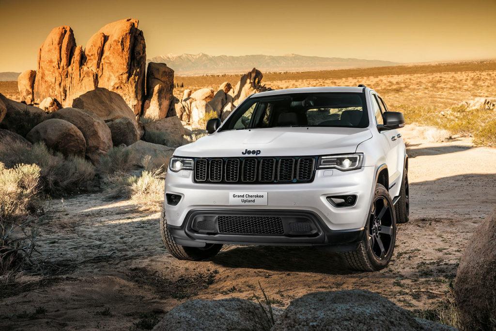 Jeep Grand Cherokee Upland: la nuova versione fa capolino nelle concessionarie