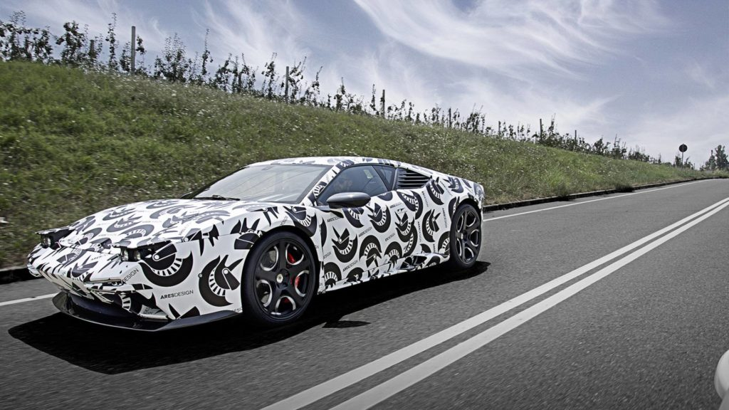 Ares Design Panther: al via i test su strada della nuova supercar