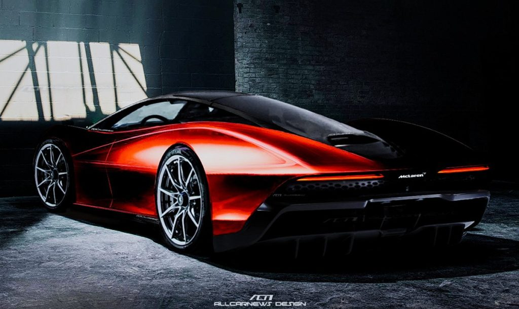 McLaren Speedtail: sarà così la nuova hypercar? [RENDERING]