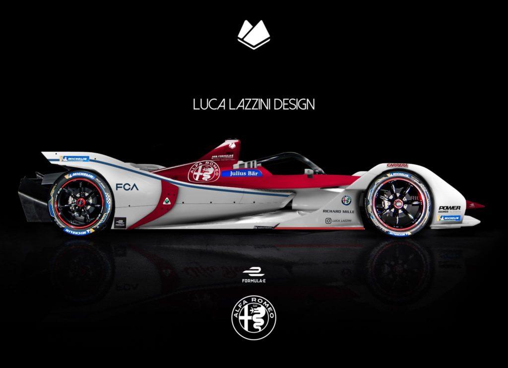 Alfa Romeo in Formula E? Ecco come potrebbe essere la monoposto [RENDERING]