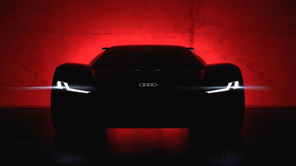 Audi PB 18 e-tron, il concept potrebbe essere un'anteprima della R8 e-tron