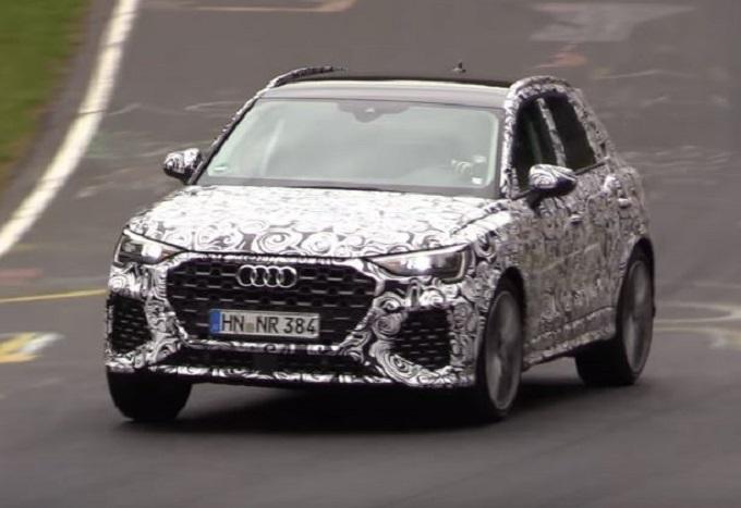 Audi Q3 RS: la nuova generazione alza la voce al Nurburgring [VIDEO SPIA]