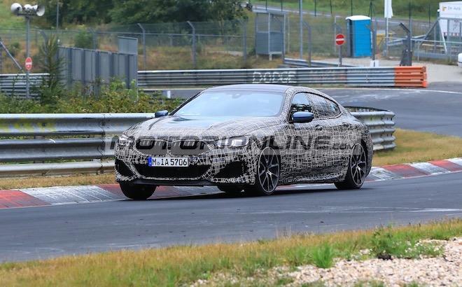 BMW Serie 8 Gran Coupe - Foto spia 14-8-2018