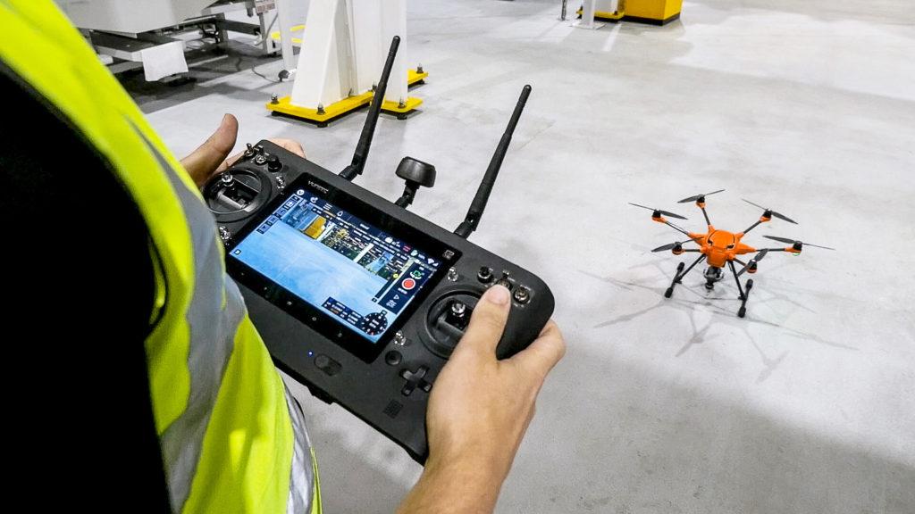 Ford sperimenta l'utilizzo di droni per ispezionare le linee di produzione [VIDEO]