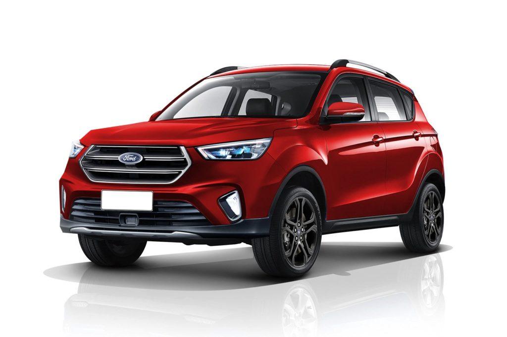 Ford EcoSport: un futuro dai tratti ispirati dalla Escape ...