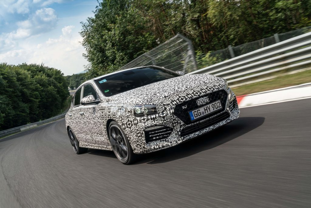 Hyundai svela al Nurburgring la filosofia del brand N