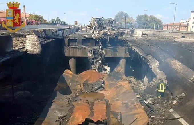Incidente Bologna, viabilità verso la normalità: per il ponte ci vorranno 5 mesi