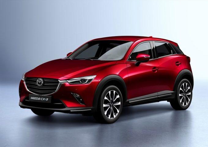 Mazda CX-3: prezzi per l'Italia da 21.470 euro