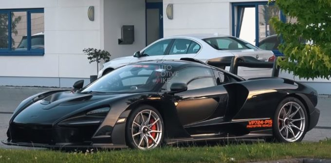 McLaren Senna avvistata al Nurburging: è caccia al record? [VIDEO SPIA]